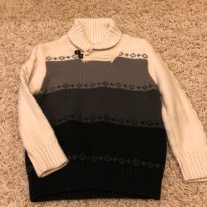 Toddler Mock Turtle Sweater